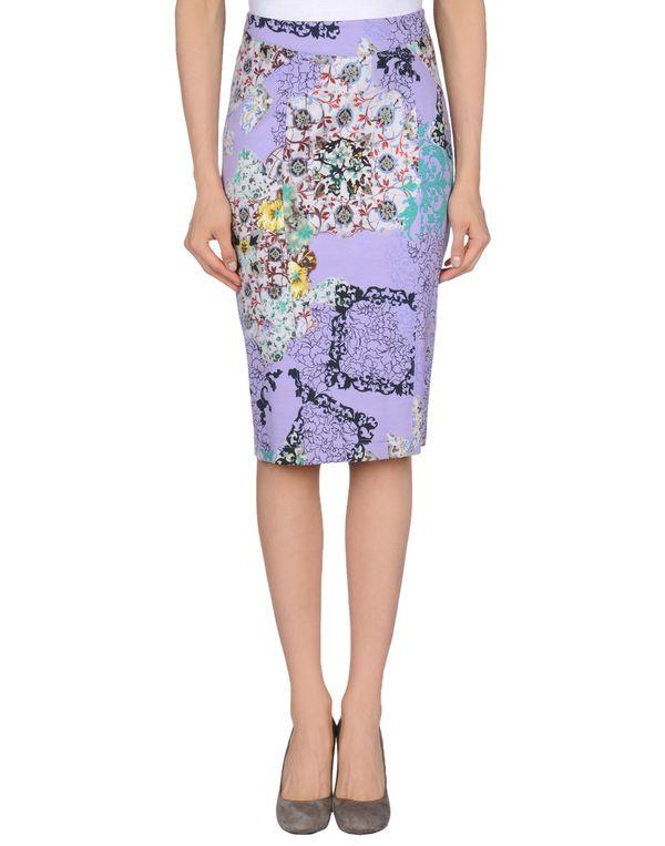 丁香紫 ETRO 及膝半裙
