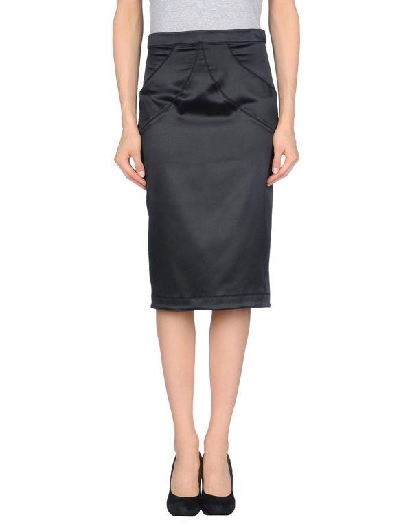 黑色 JUST CAVALLI 半长裙