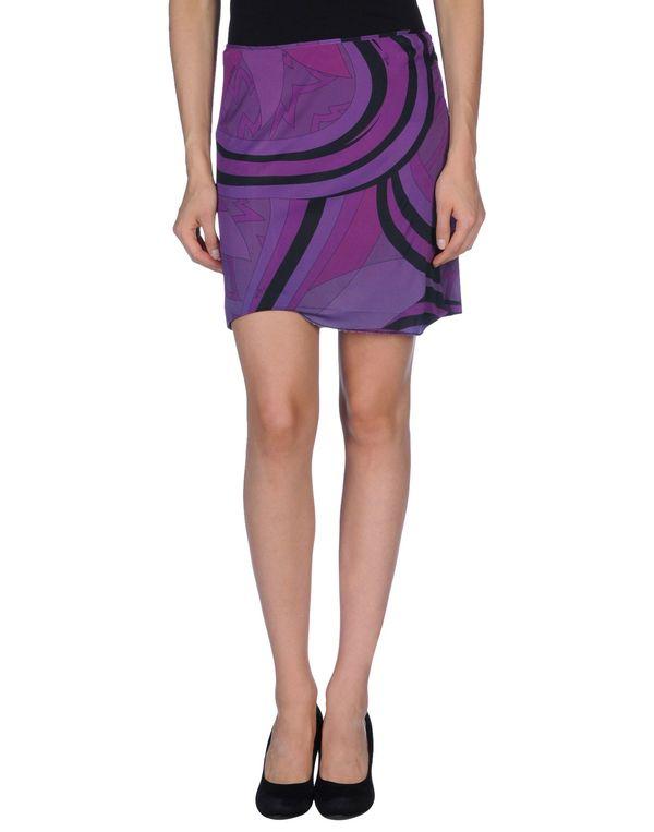 紫红 EMILIO PUCCI 超短裙