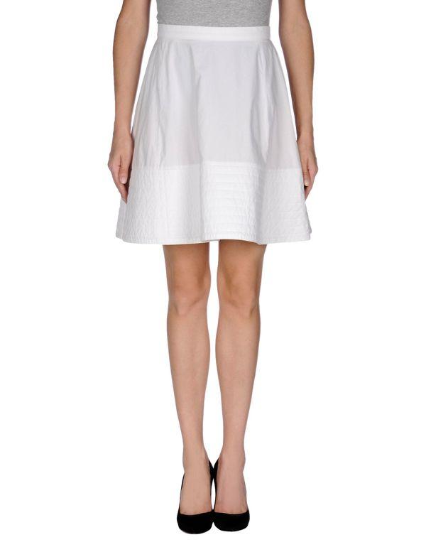 白色 VIVIENNE WESTWOOD ANGLOMANIA 及膝半裙