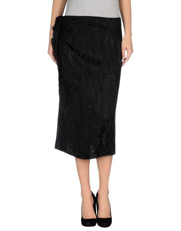 黑色 ISABEL MARANT 半长裙