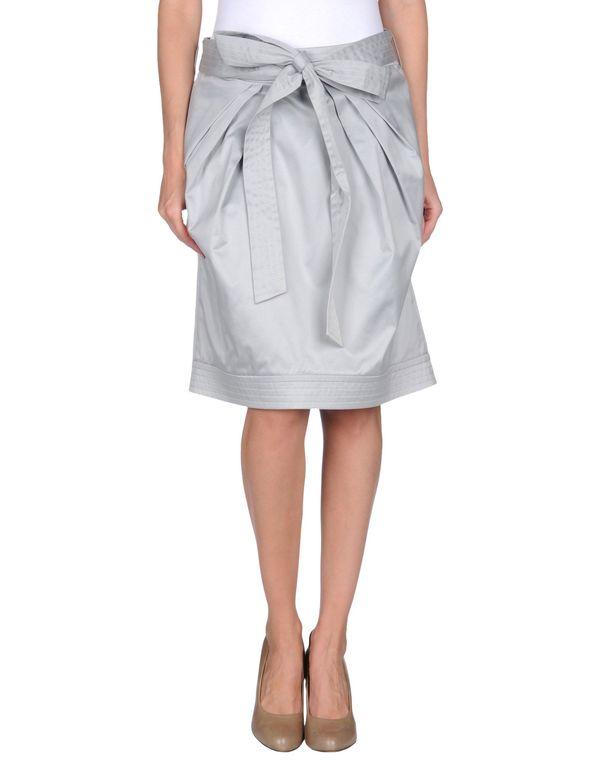 淡灰色 BLUGIRL BLUMARINE 及膝半裙
