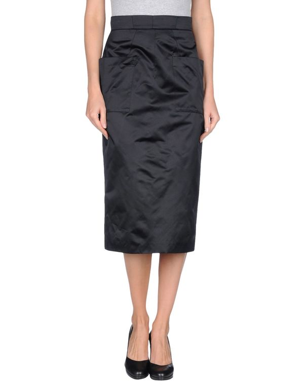黑色 PRADA 半长裙