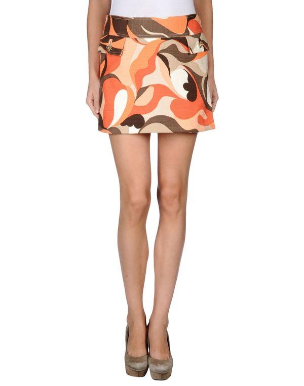 橙色 DOLCE & GABBANA 超短裙
