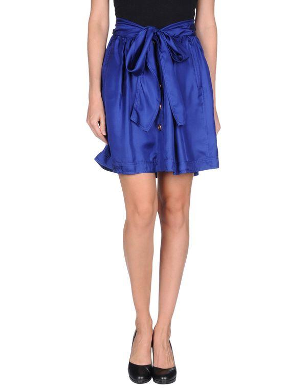 宝蓝 BLUMARINE 及膝半裙