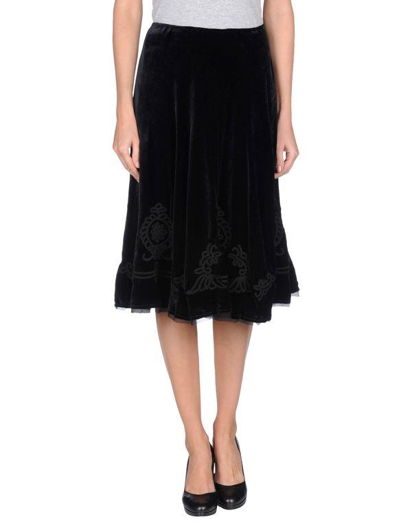 黑色 ERMANNO SCERVINO 半长裙