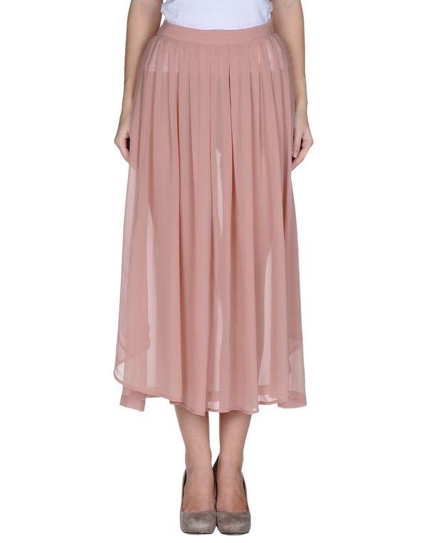 裸色 MARIOS 长裙