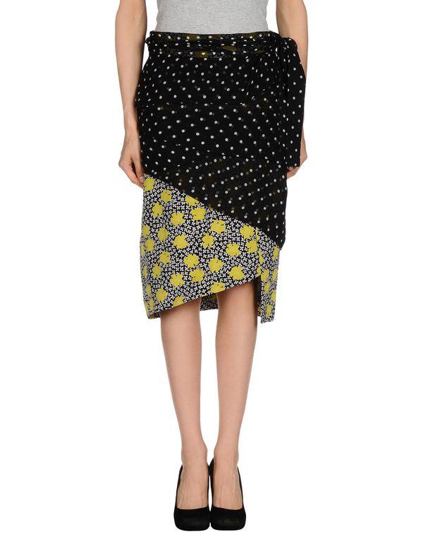 黑色 AQUILANO-RIMONDI 半长裙