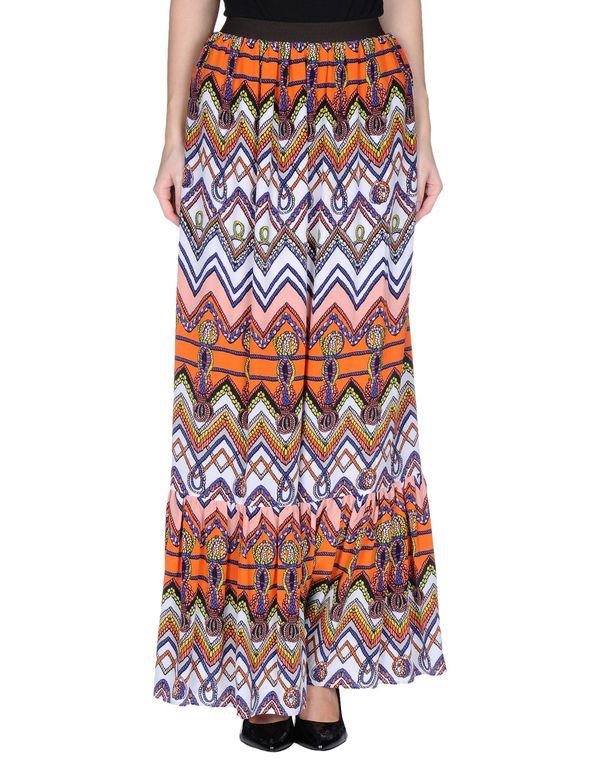 橙色 MSGM 长裙