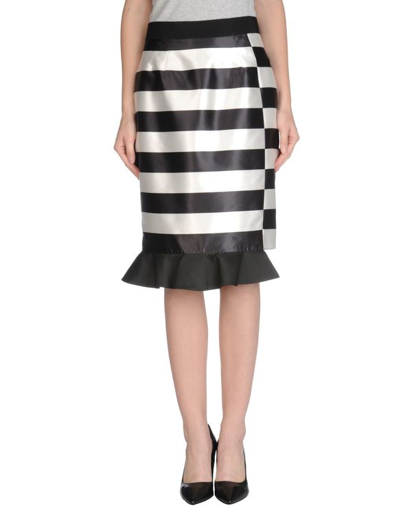 黑色 AQUILANO-RIMONDI 及膝半裙
