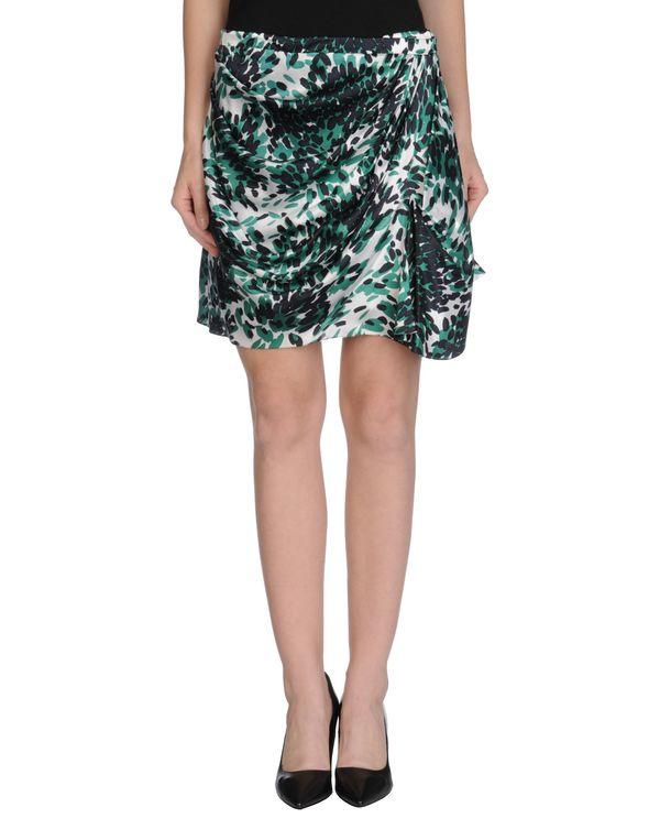 绿色 BALENCIAGA 超短裙