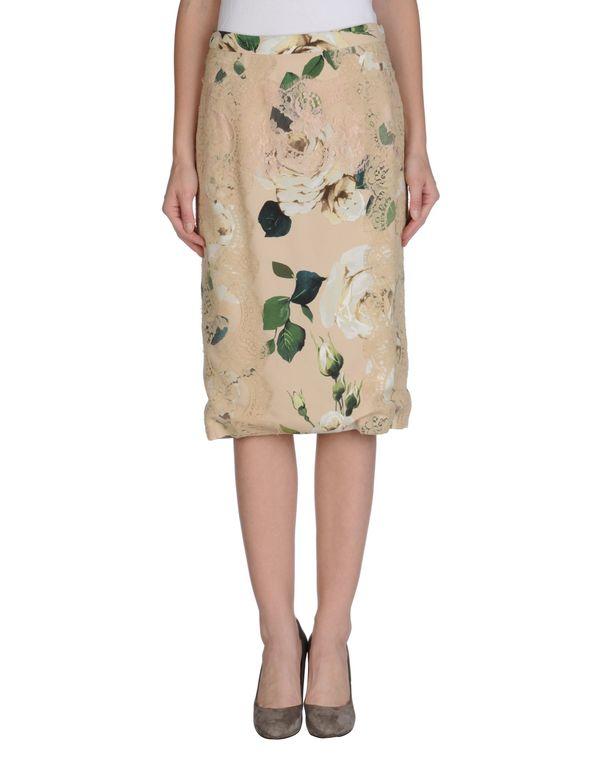 裸色 DOLCE & GABBANA 半长裙