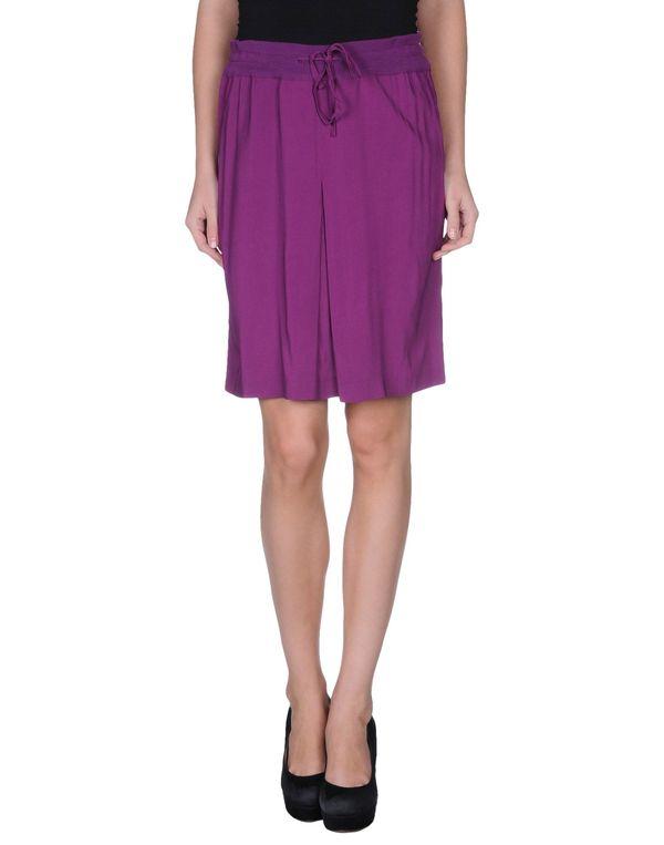 紫红 SUOLI 及膝半裙