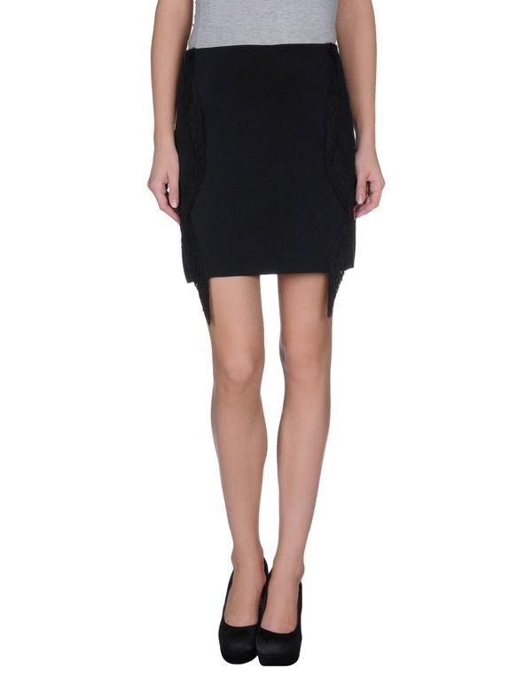 黑色 PINKO 超短裙