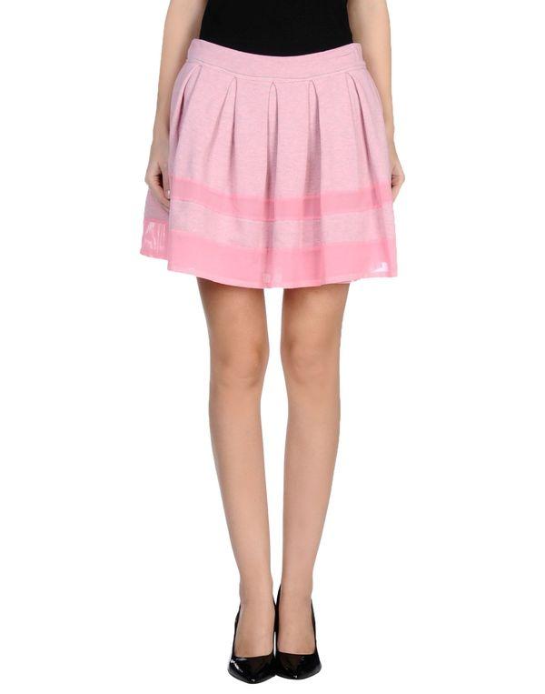 粉红色 NOSHUA 超短裙