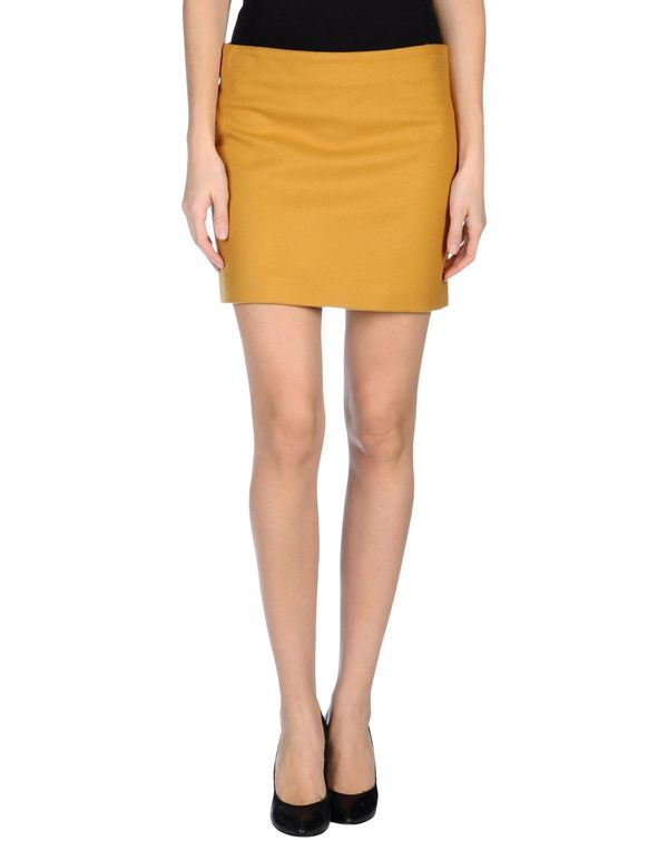 赭石色 FAY 超短裙