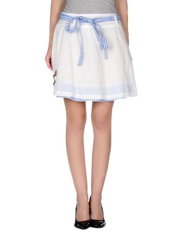 白色 ATELIER FIXDESIGN 超短裙