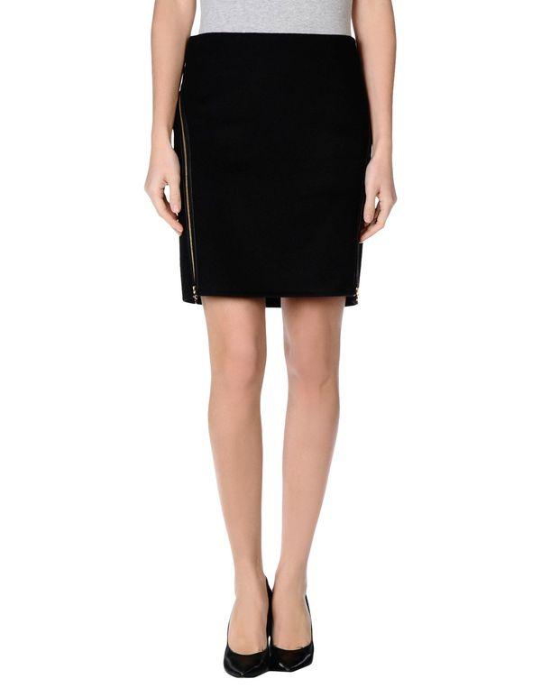 黑色 SALVATORE FERRAGAMO 及膝半裙