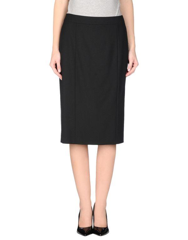 黑色 REDVALENTINO 半长裙