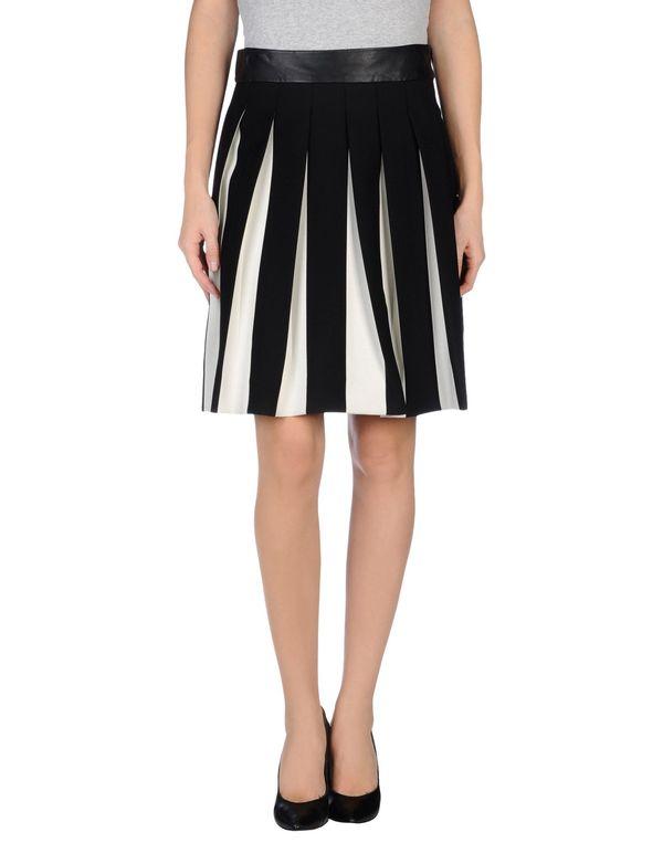 黑色 MILLY 及膝半裙