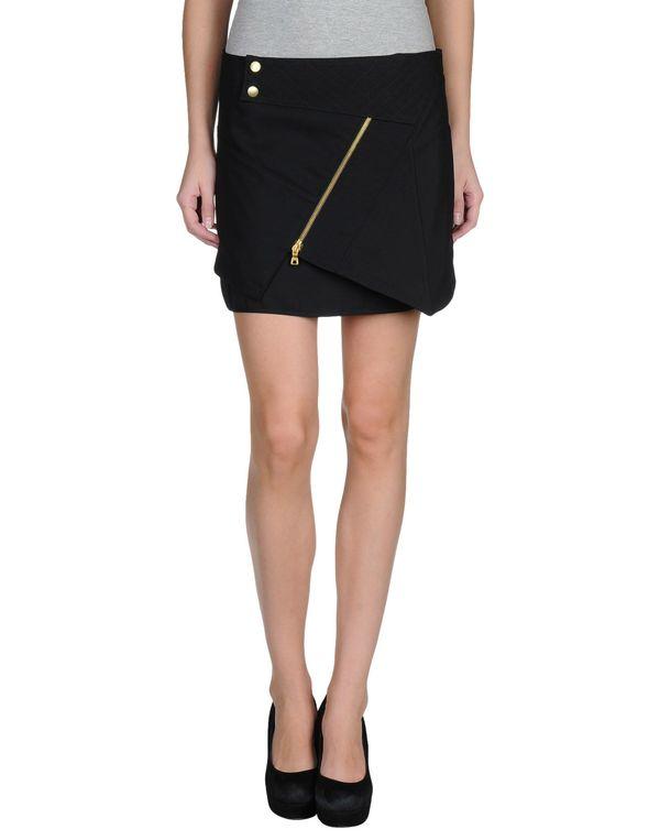 黑色 PROENZA SCHOULER 超短裙