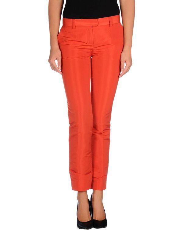 红色 REDVALENTINO 裤装