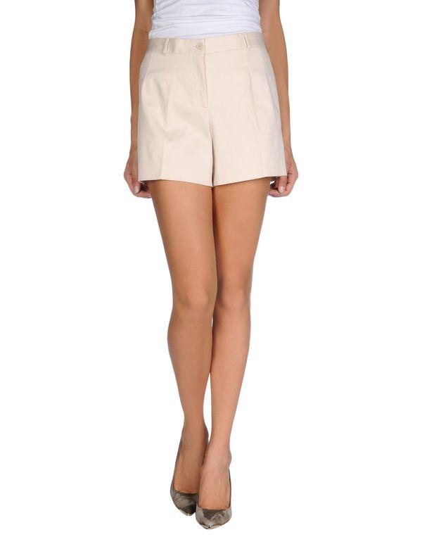象牙白 DOLCE & GABBANA 短裤