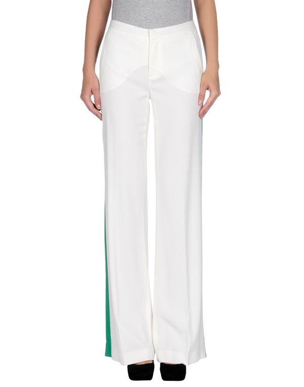 白色 MSGM 裤装