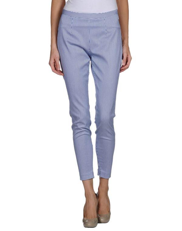 蓝色 GAETANO NAVARRA 裤装