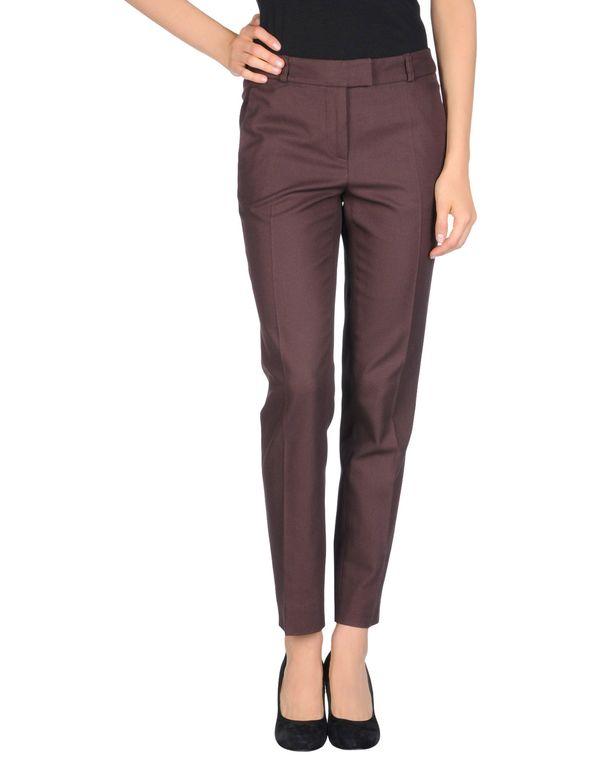 深棕色 MOSCHINO CHEAPANDCHIC 裤装