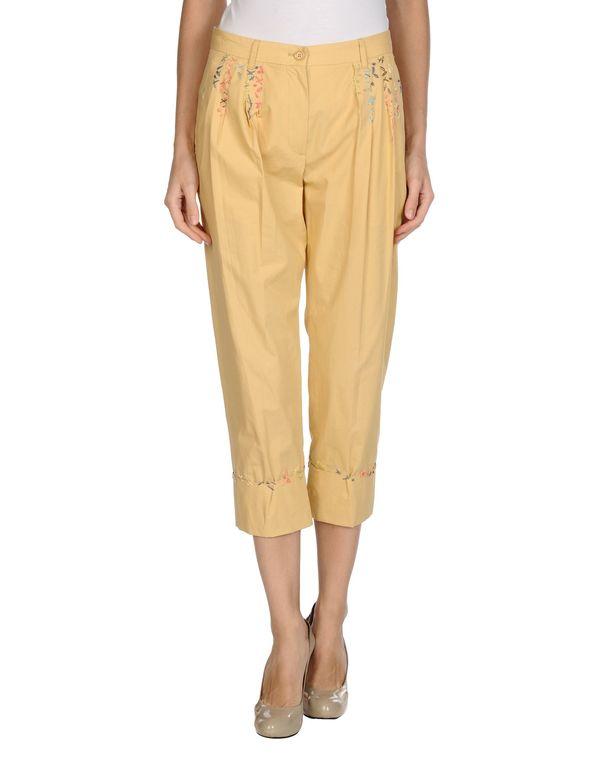 黄色 MOSCHINO 裤装