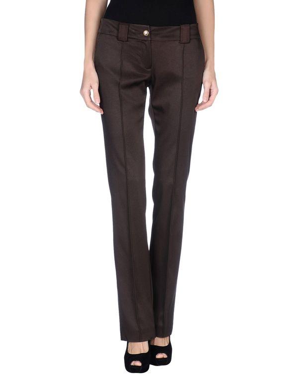 深棕色 CLASS ROBERTO CAVALLI 裤装