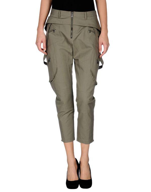 军绿色 NEIL BARRETT 裤装