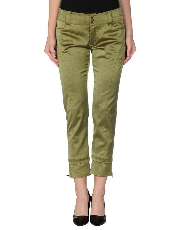 军绿色 SCERVINO STREET 裤装