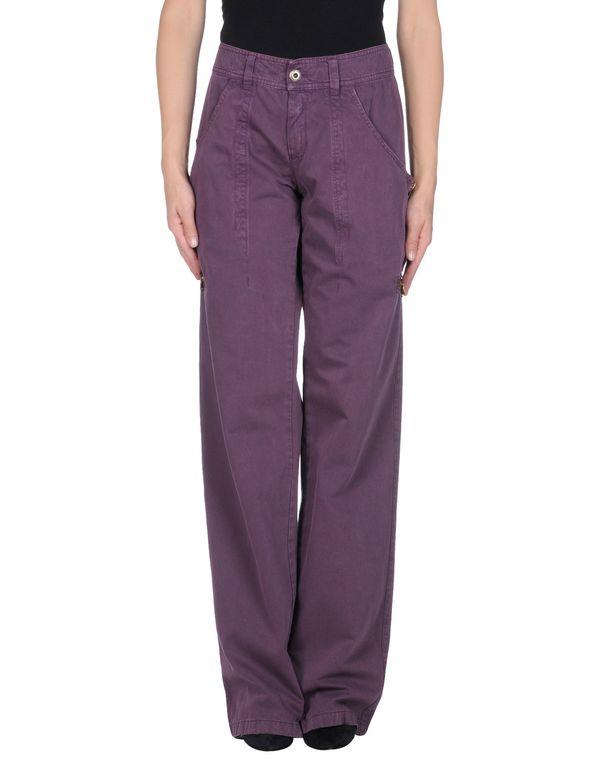 紫色 SCERVINO STREET 裤装