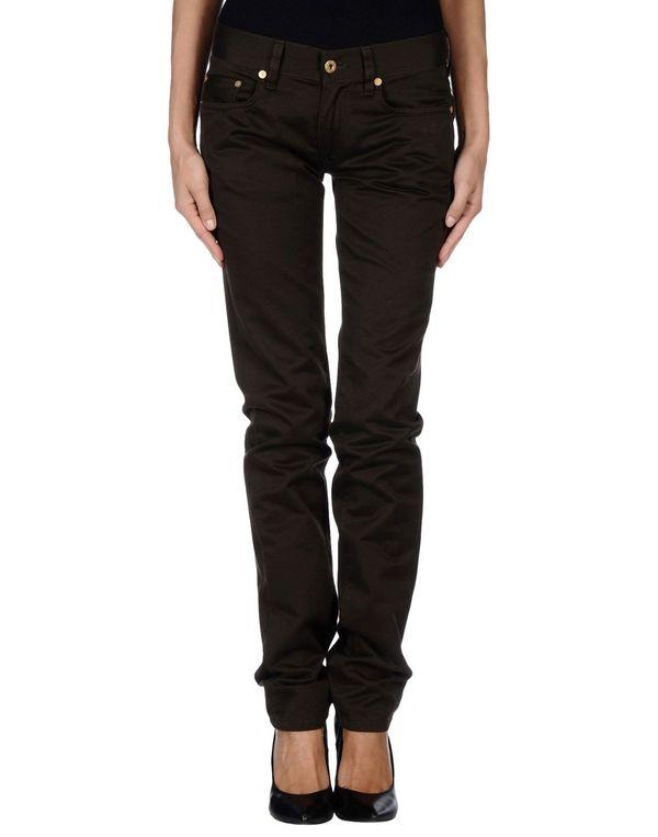 深棕色 MAURO GRIFONI 裤装