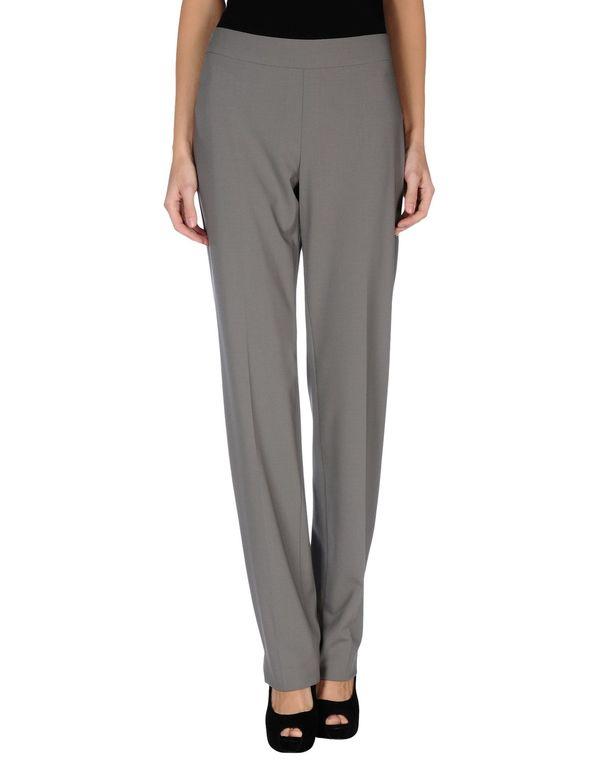 铅灰色 ARMANI COLLEZIONI 裤装