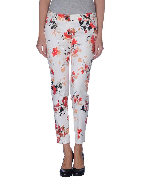 白色 ELISABETTA FRANCHI 裤装