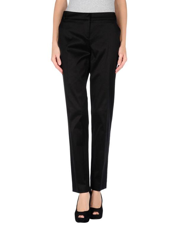 黑色 ANNA MOLINARI 裤装