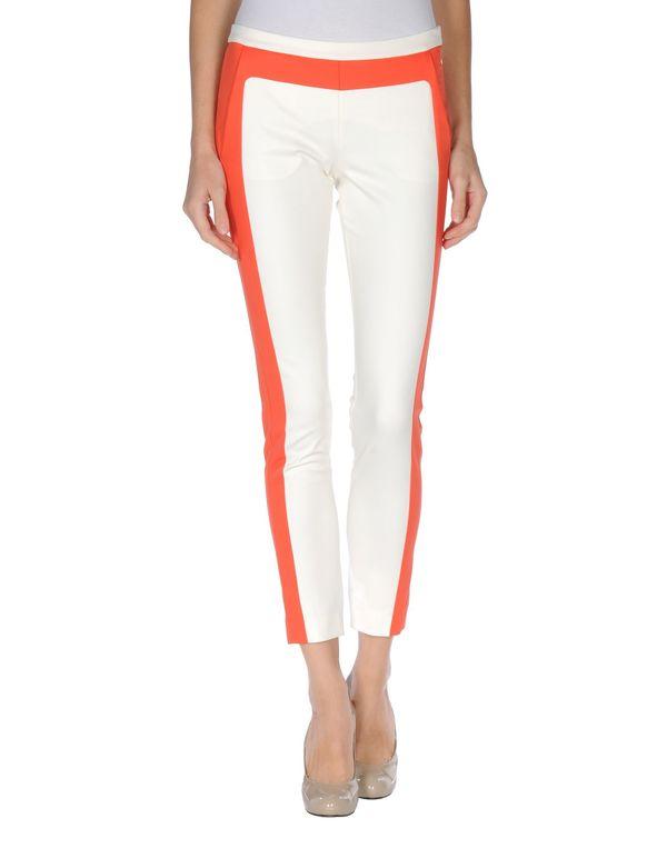 象牙白 MSGM 裤装