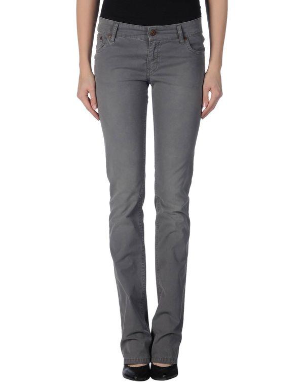 灰色 DANIELE ALESSANDRINI DENIM 裤装