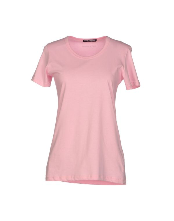 粉红色 DOLCE & GABBANA T-shirt