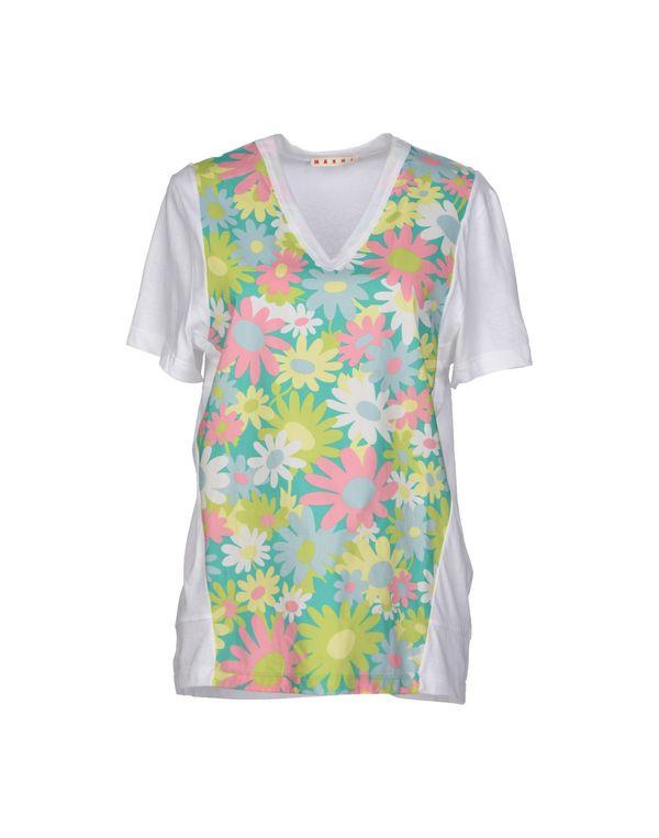浅绿色 MARNI T-shirt