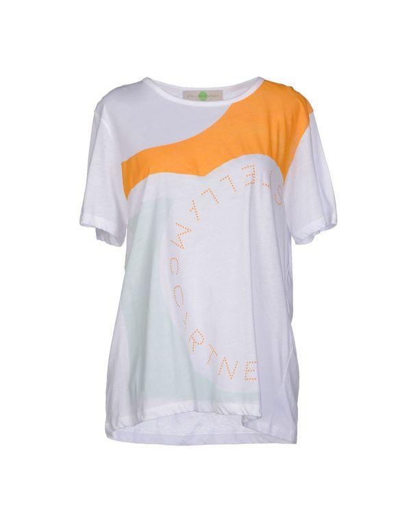 白色 STELLA MCCARTNEY T-shirt