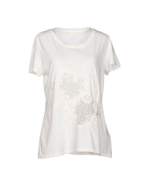 象牙白 SCERVINO STREET T-shirt