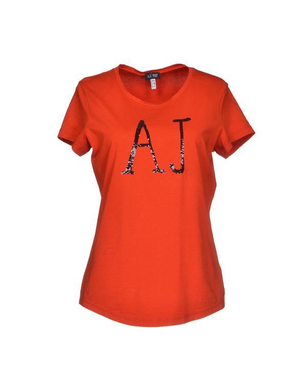 铁锈红 ARMANI JEANS T-shirt