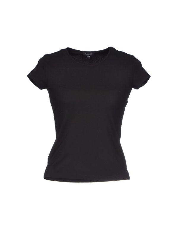 黑色 CRUCIANI T-shirt