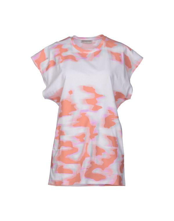 粉红色 BALENCIAGA T-shirt