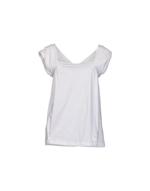 白色 PRADA T-shirt