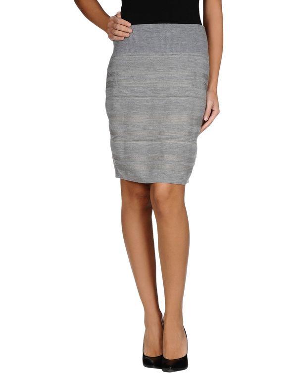 灰色 SEE BY CHLOÉ 超短裙